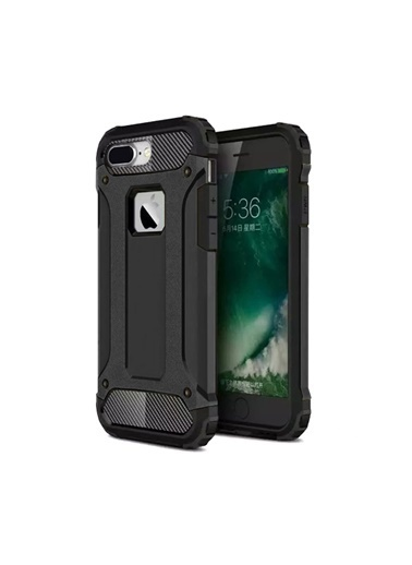 Microsonic iPhone 8 Plus Kılıf Rugged Ar  Siyah